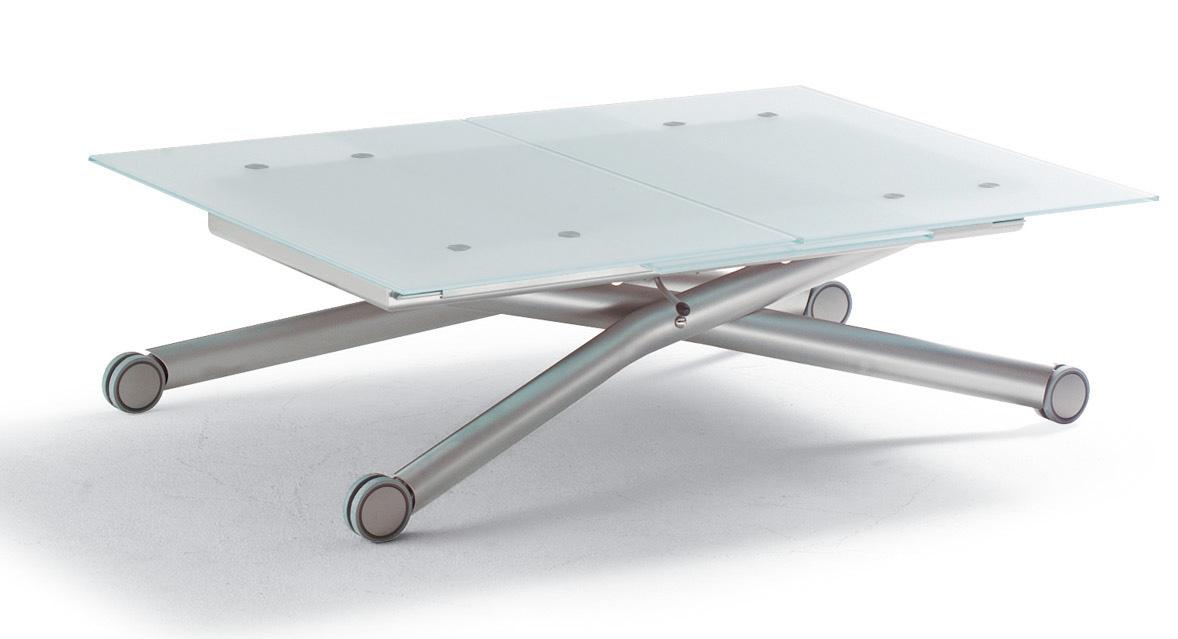 モダン強化ガラステーブル