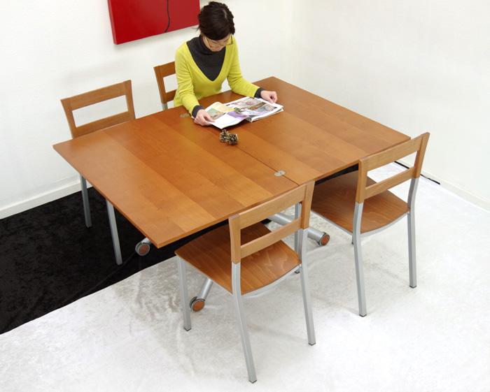 伸張式昇降テーブル