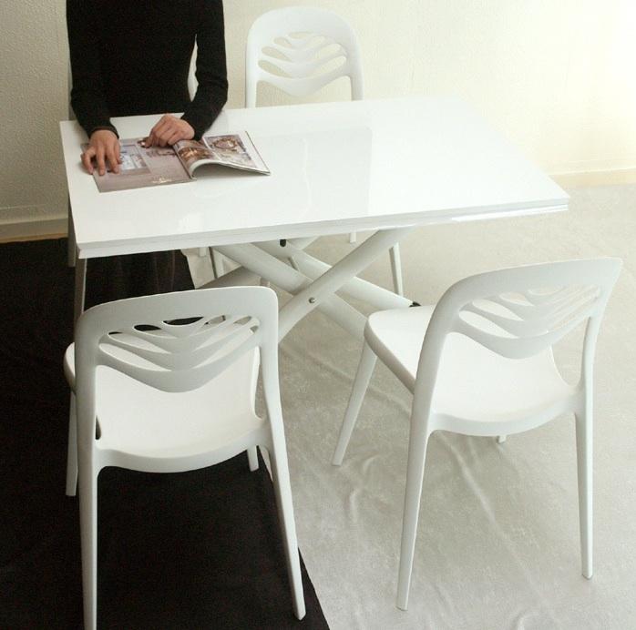 巾140cm×奥行110cm伸長式テーブル