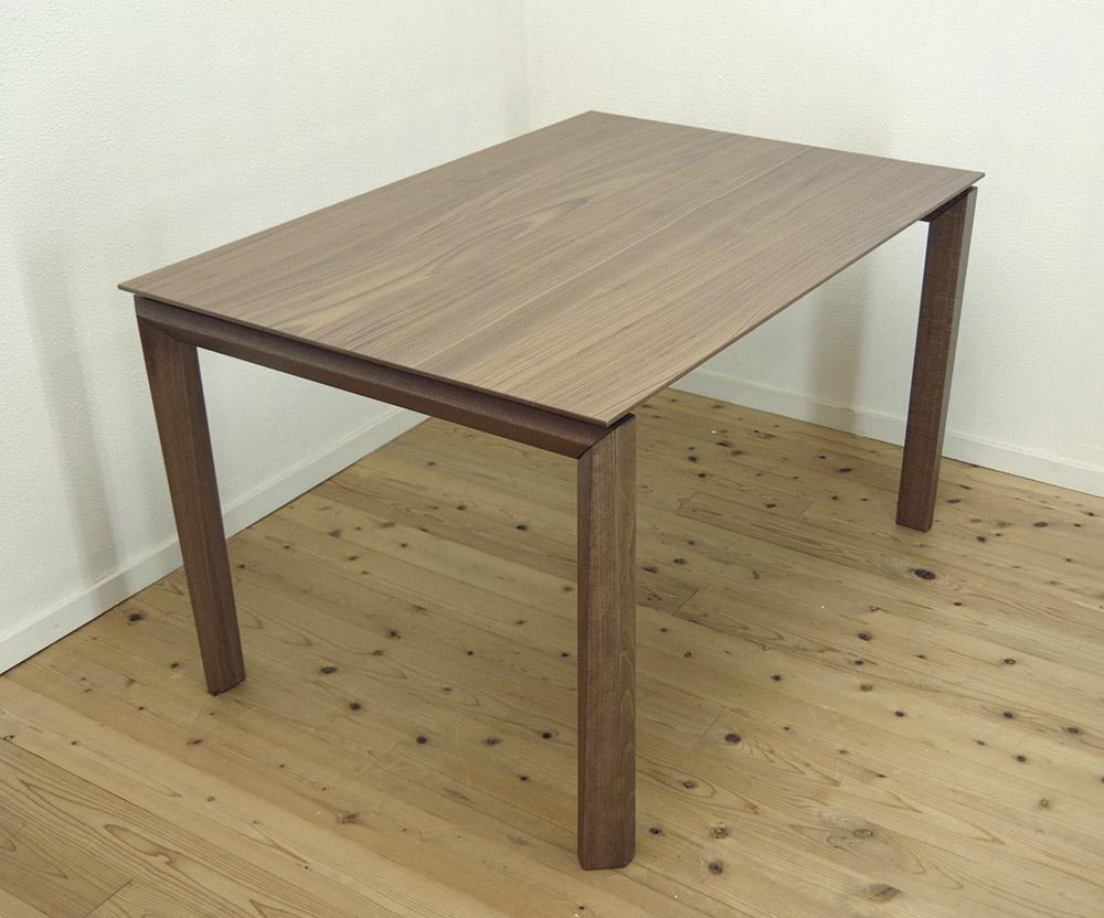 巾130cmイタリア製伸縮ダイニングテーブル