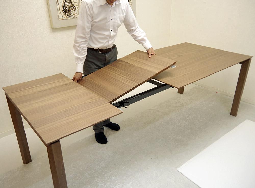 巾230cm伸縮ダイニングテーブル