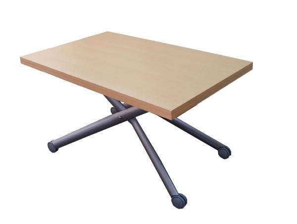 昇降テーブルビーチ色