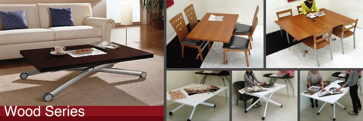 木製天板デザイナーズテーブル